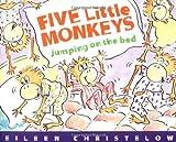 Five Little Monkeys Jumping on the Bed, Eileen Christelow, 0395557011