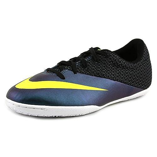 Nike JR Mercurialx Pro IC, Botas de fútbol para Niños, Azul/Verde/Negro (Squadron Blue/Volt-Black), 33 EU: Amazon.es: Zapatos y complementos