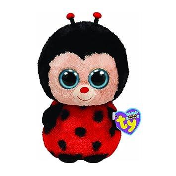 5a68ae3a6bb Ty Beanie Boos Bugsy The Ladybug