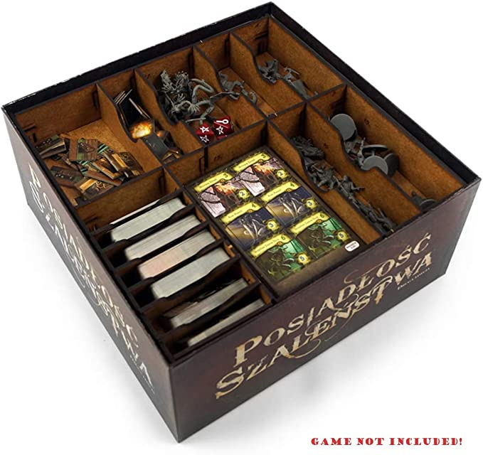 docsmagic.de Organizer Insert for Mansions of Madness: Second Edition Box - Encarte: Amazon.es: Juguetes y juegos