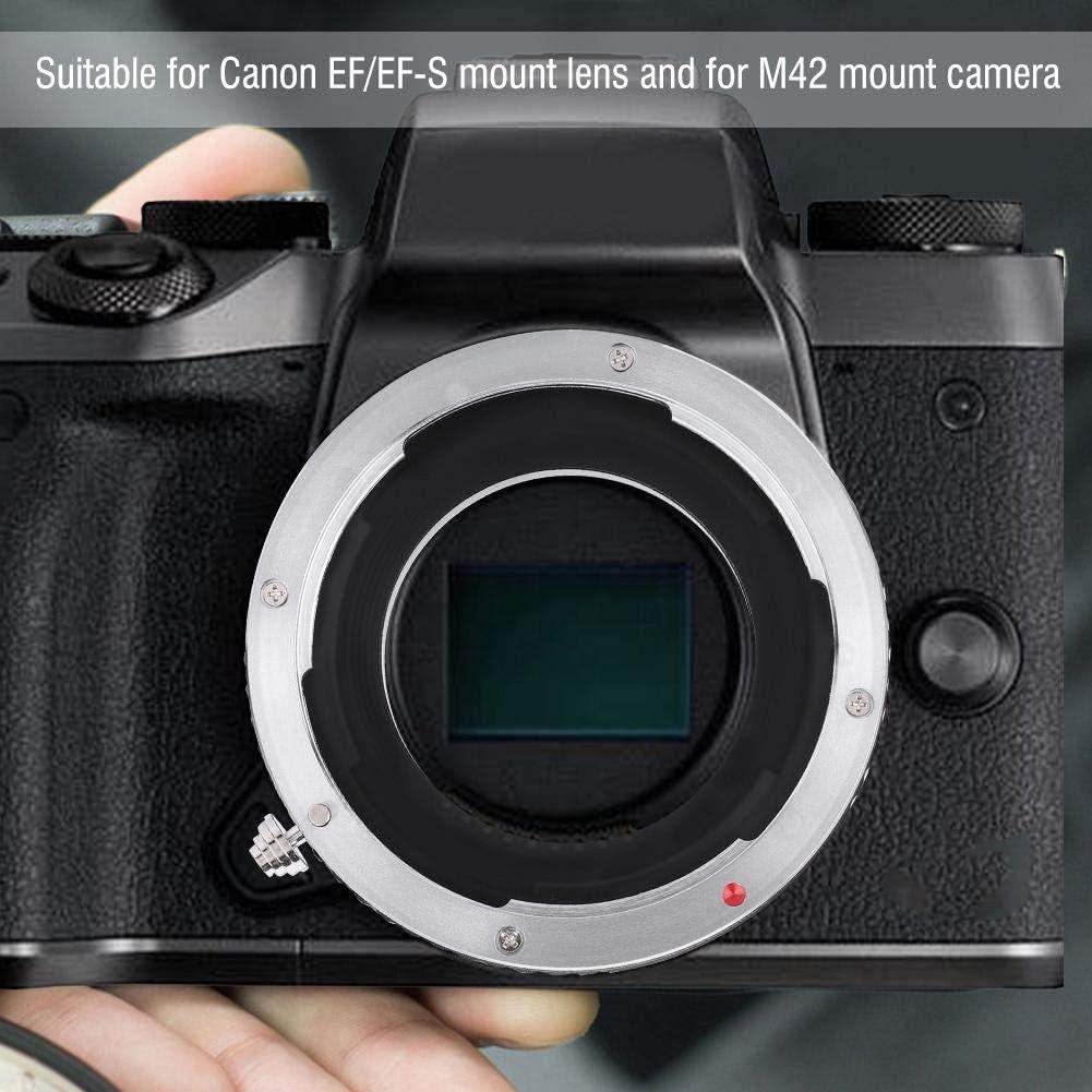 Serounder Lens Mount Adapter Ring,C-M4//3 Metal Lens Adapter Ring for C Mount Monitoring Camera Lens to for M4//3 Camera,Manual Control Focus//Exposure,Aperture Priority