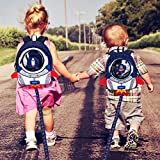 JiePai Rocket Toddler Kids Backpack with Harness