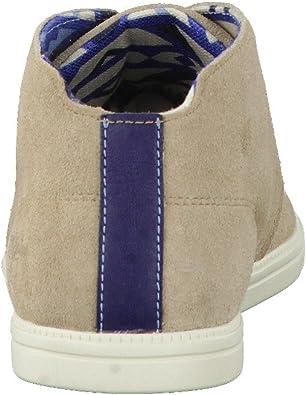 scarpe uomo TIMBERLAND polacchini beige camoscio AK559