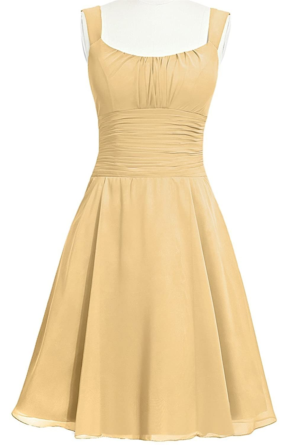 MittyDressesWomens Evening Homecoming Prom Party Cocktail Dress Size 24W US Gold