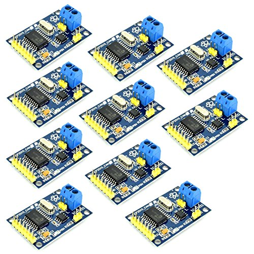 Optimus Electric 10pcs MCP2515 CAN Controller 1MB/s Communication Speed with TJA1050 Driver and SPI Interface for Microcontroller Projects from - Optimus Receivers