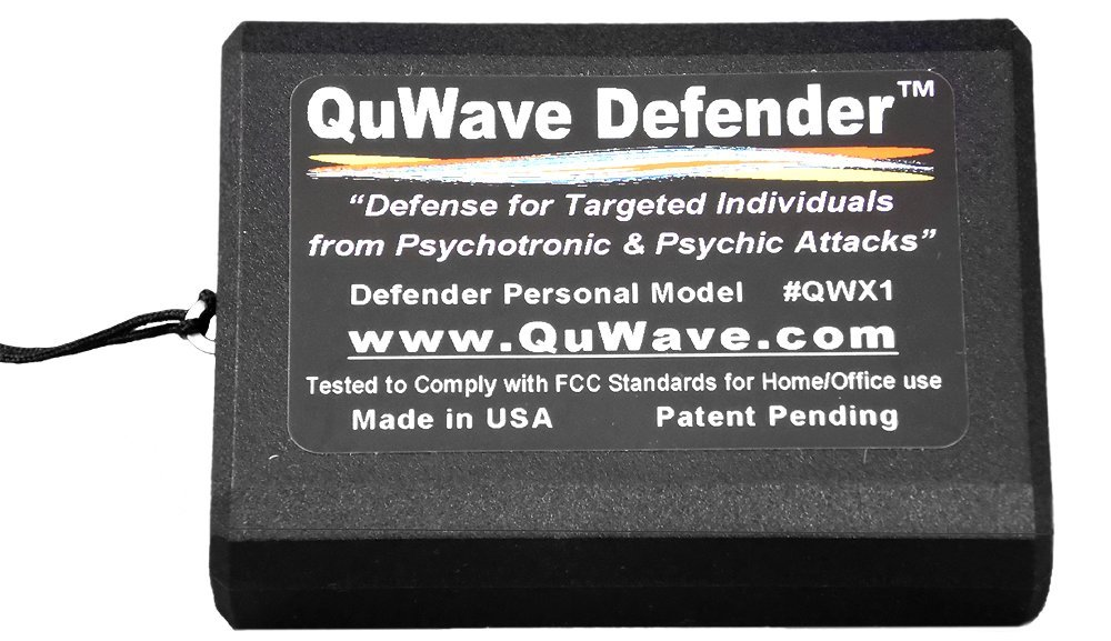 QuWave Defender helps Targeted Individuals live a happier and normal life   Produces Scalar Fields and