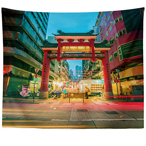 Westlake Art Wall Hanging Tapestry   Area Metropolitan   Photography Home Decor Living Room   26X36in