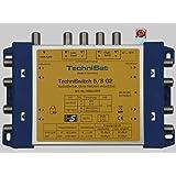 TechniSat TECHNISWITCH 5/8 G2, Multischalter/Verteiler für bis zu 8 Teilnehmer, 100m Entfernung überbrückbar, inkl. Netzteil