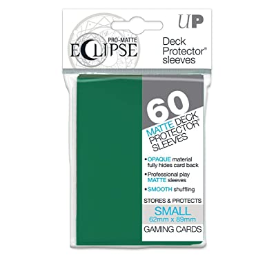 Ultra Pro 85831 Eclipse Small Pro Matte (60 Pack), Forest Green: Toys & Games