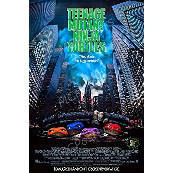 MCPosters Teenage Mutant Ninja Turtles 1990 GLOSSY FINISH Movie Poster - MCP466 (16