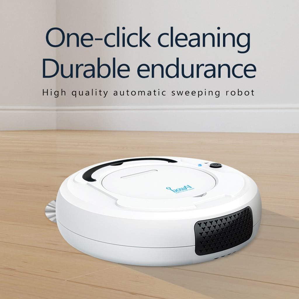 Robot Aspirador y Fregasuelos Robot De Barrido 3 En 1 Tipo De Carga Inal/ámbrica De Robot De Barrido Dom/éstico Peque/ño routinfly Peque/ño Robot De Limpieza del Hogar