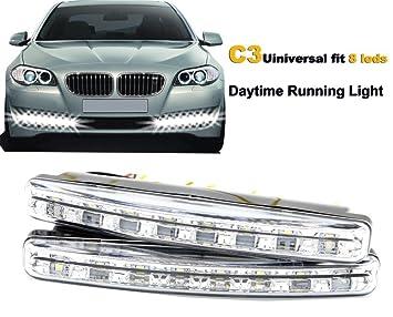 Universal Nebelscheinwerfer Lampen Tagfahrlicht Nacht 6/LED Scheinwerfer Auto Transporter