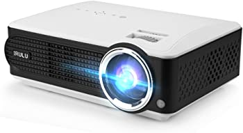 iRULU P4 LED Home Theater Projector