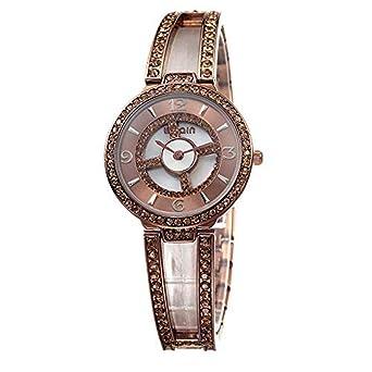 Hermosos Relojes Weiqin para Correr el Tocadiscos Diamond Bracelet ...