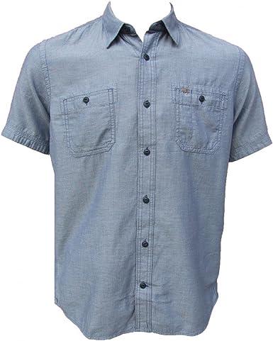 Timberland SS Chambray Shirt Indi Camisa, Azul (Vintage Indigo), Medium para Hombre: Amazon.es: Ropa y accesorios