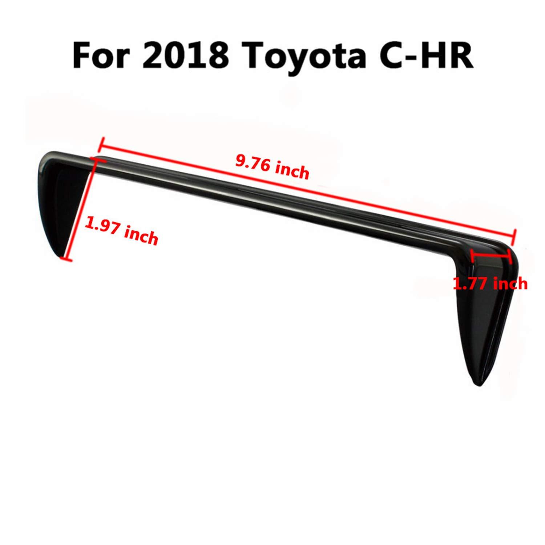 GPS Navigation Sun Hood Anti Reflective LiFan 2018-Toyota-C-HR-SUN-VISOR LFOTPP 2018 Toyota C-HR NGX50 ZYX10 Vehicle Navigator Sunshade Visor,Glare Vision Shield