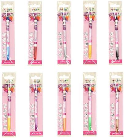 Funcakes - Pack de 10 bolígrafos comestibles, (10 colores): Amazon.es: Hogar