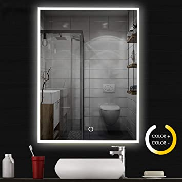 Pleasing Neutype Led Mirrors Bathroom Mirrors Wall Mounted Dimmable Lighting Mirror Rectangle Cosmetic Download Free Architecture Designs Terstmadebymaigaardcom