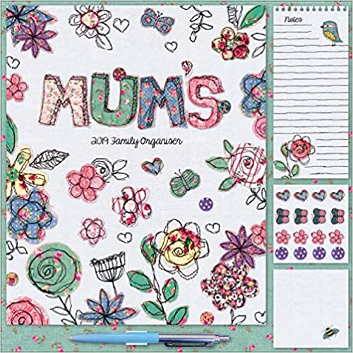 Square Planner Mums Fabric Household P W 2019