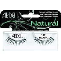Ardell - Pestañas Postizas Modelo: 116 - Color Negro - Incluye Adhesivo Para Su Aplicación - Diseño Brillante Y Sutil…