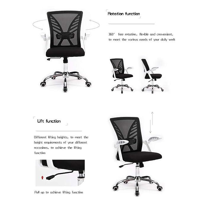 Amazon.com: Bseack Offcie Chair, Rotating Armrest Executive ...