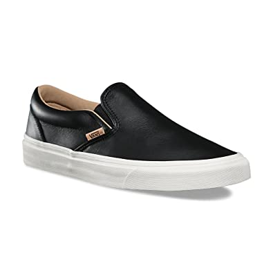 vans black leather mens