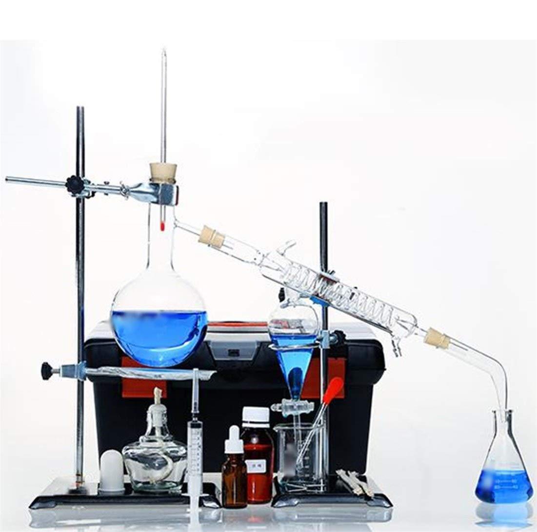 Wyyggnb Laboratory Equipment, Distillation Unit Glassware Extraction Production Chemistry Handmade Distillation Unit Distillation Experiment Tool by Wyyggnb