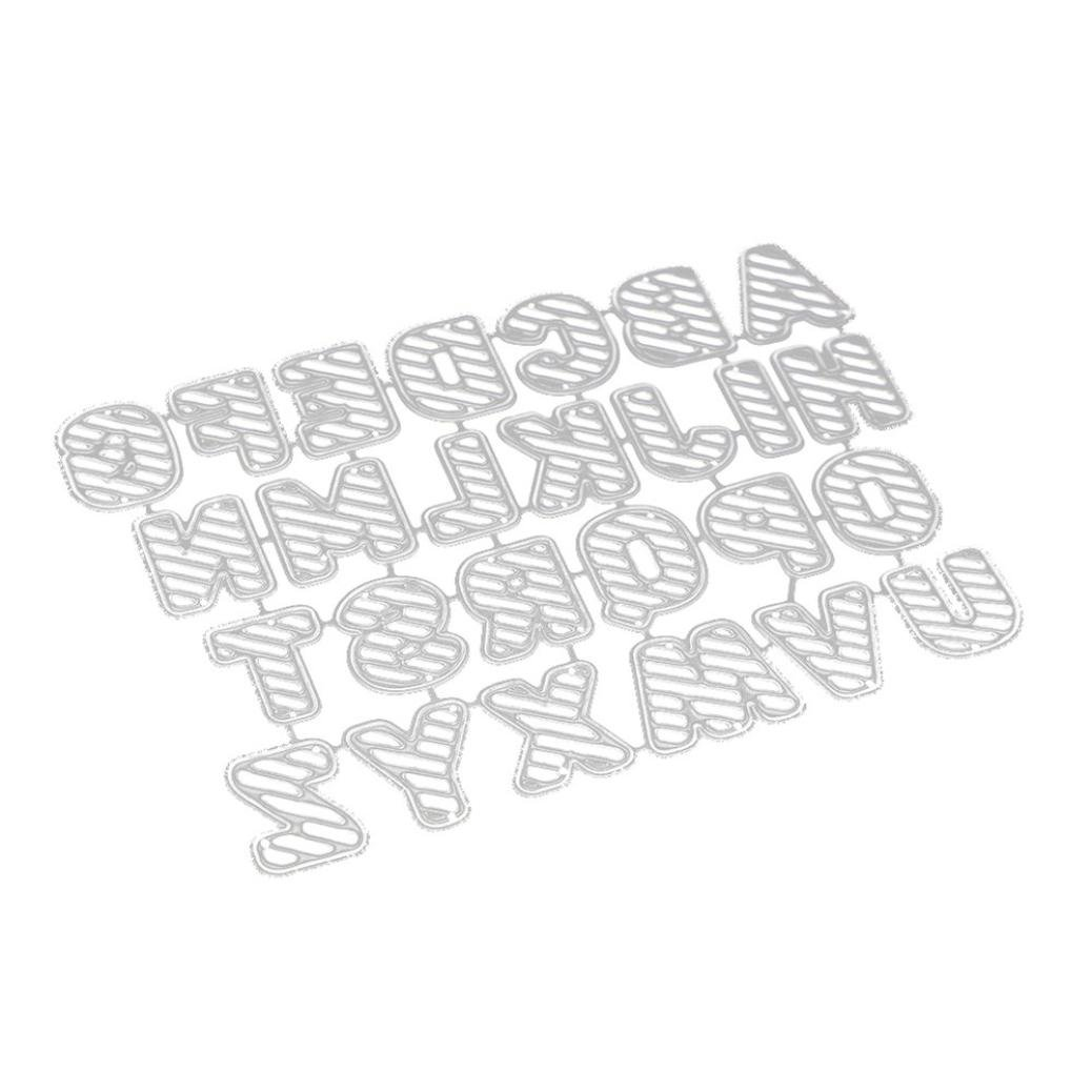 Autumn-wind New Large Big Alphabet Letters Metal Cutting Dies Craft Embossing Stencils For Making DIY Scrapbooking Journal Greet Card
