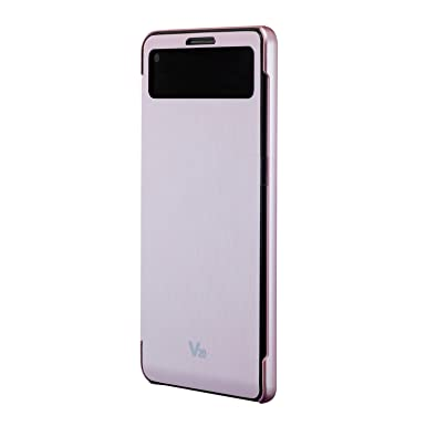 huge discount 13324 f1a3c VOIA LG V20 Quick Window View Flip Cover Case (Pink) - FREE LCD ...