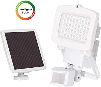 Westinghouse 2000 Lumens Motion Activated LED Outdoor Solar Flood Light