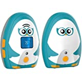 TimeFlys Audio Baby Monitor Mustang OL with Rechargeable Battery Two Way Talk LCD Screen Temperature Monitoring and Warning L