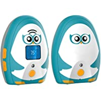 Timeflys Audio Baby Monitor Mustang Vibration Two Way Talk LCD Display Temperature Monitoring and Warning Lullabies…