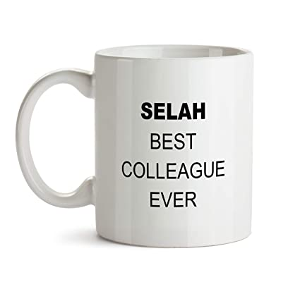 Amazon Selah Best Colleague Ever Gift Mug