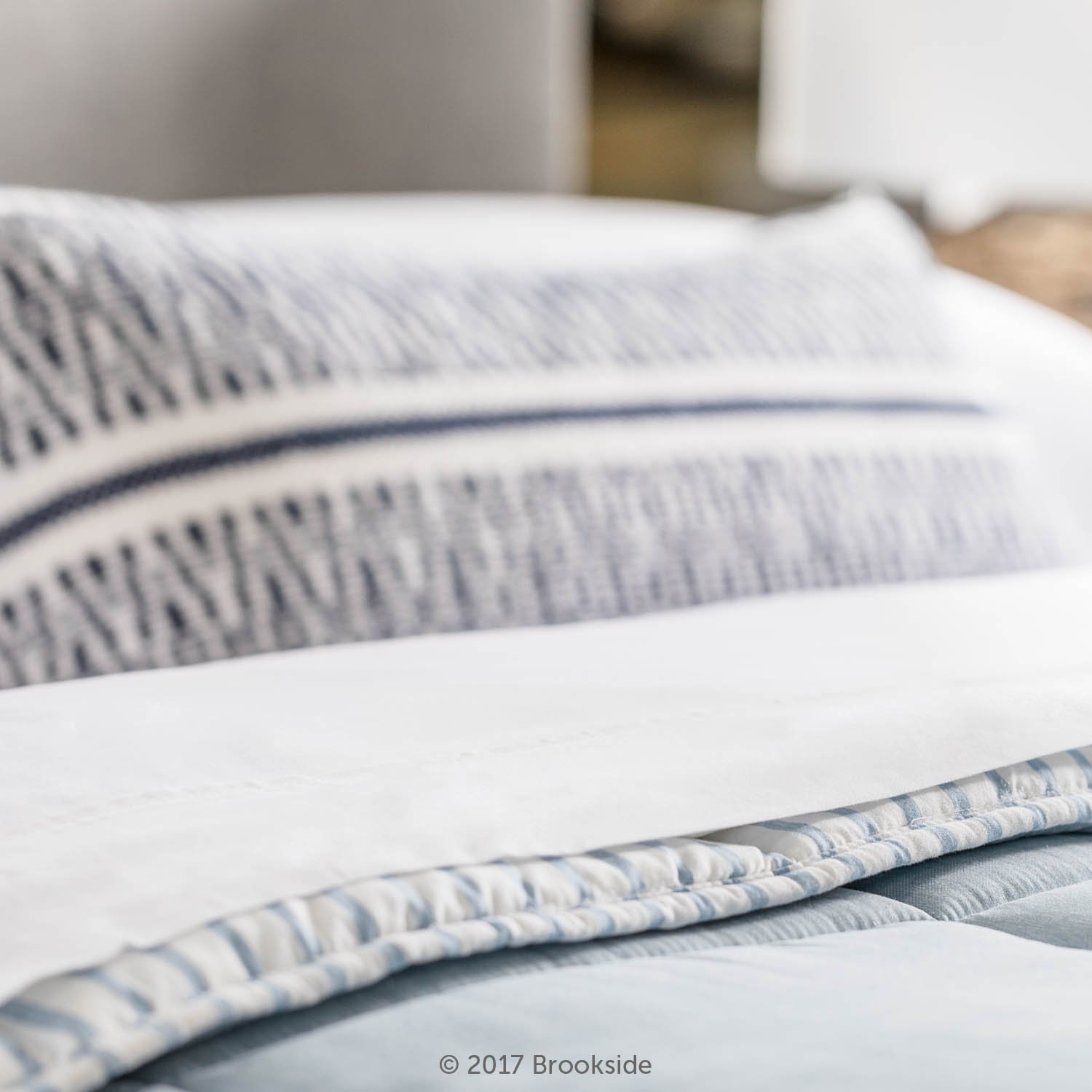BROOKSIDE - TENCEL Sheet Set - Luxurious Feel - Great for Sensitive Skin - Sateen Weave - Eco Friendly - King - White by Brookside (Image #4)