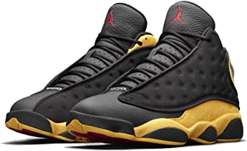 2d5d60c3cb1c04 Air Jordan 13 Retro Men s Basketball Shoes Black University Red 414571 035 ( 10)