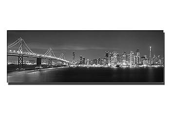 Wandbild Xxl Günstig U0026 Modern (san Francisco Skyline 150x50cm