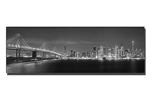 TOP Bilder! Wandbild Xxl Günstig U0026 Modern (san Francisco Skyline 150x50cm
