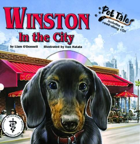 Winston in the City - A Pet Tales Story (with audiobook CD)