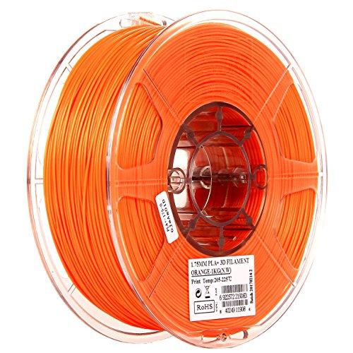 eSUN 1.75mm Orange PLA PRO (PLA+) 3D Printer Filament 1KG Spool (2.2lbs), Orange by eSUN