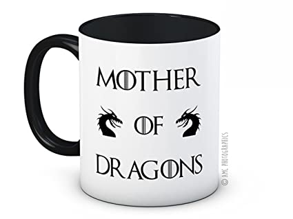 Mother of Dragons - Game of Thrones - Daenerys Targaryen - Caffè di ceramica di alta qualità tazza