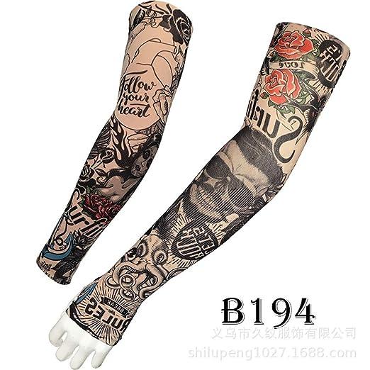 Manga de tatuaje para hielo Brazo de flor masculino Impresión sin ...