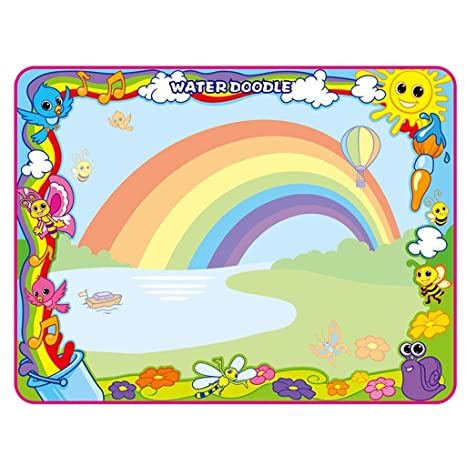 Amazon Com Binory 100x70cm Children Educational Toys Magic Rainbow
