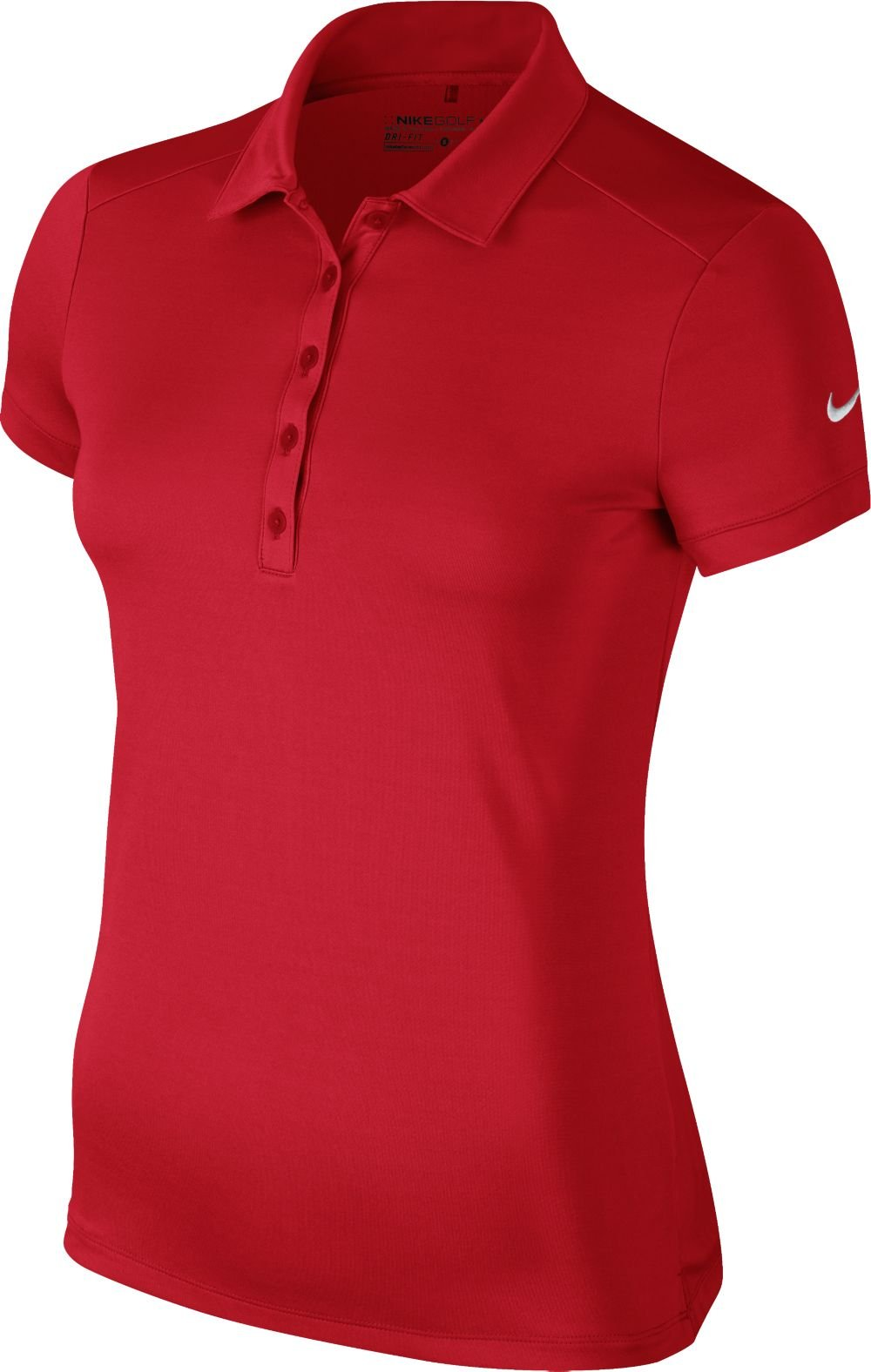 Nike Victory Solid Golf Polo 2015 Ladies University Red X-Small