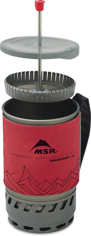 MSR Coffee Press Kit for Windburner 1.0 Litre Cooking System Cafetière type p...