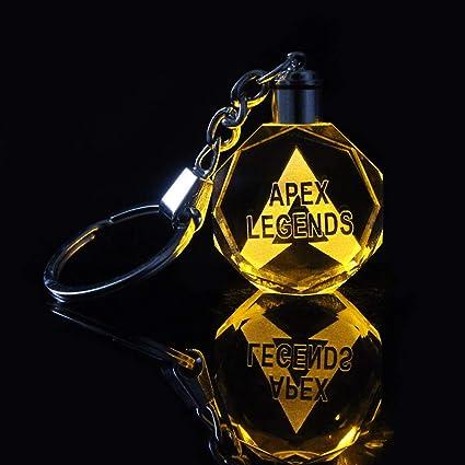 Yuhiugre APEX Legends - Llavero con luz LED, color ...