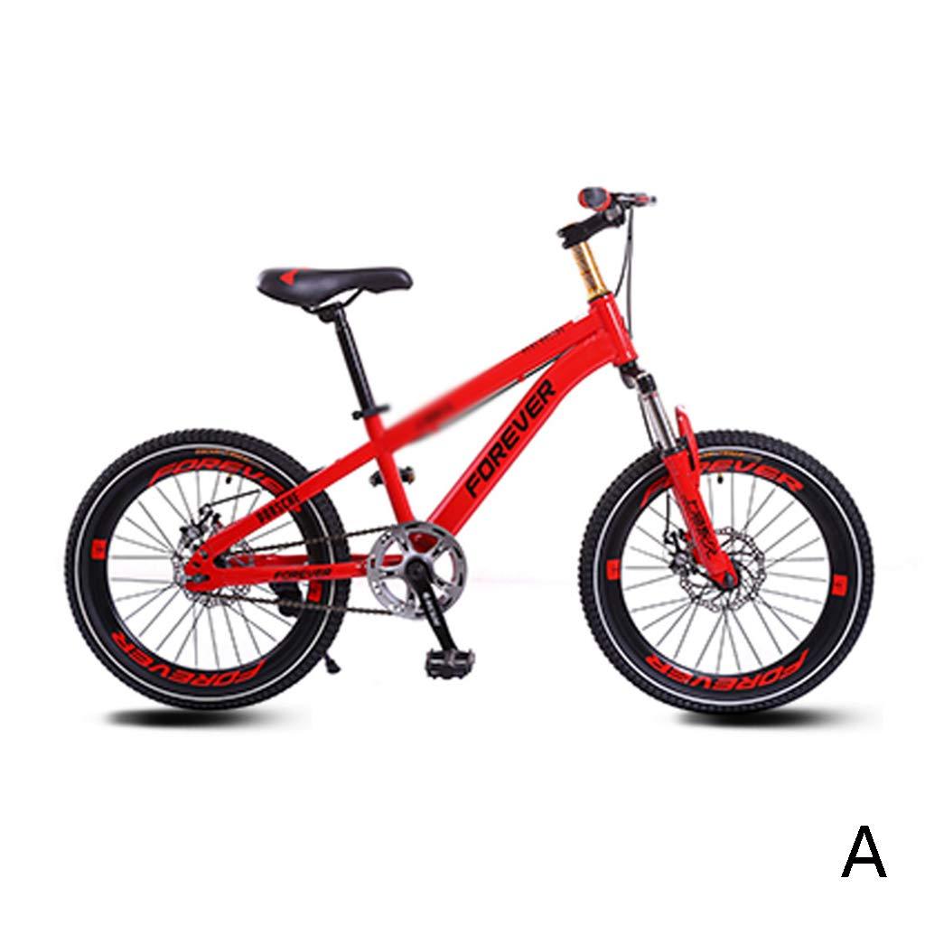 キッズ 自転車 学生 自転車 学生 マウンテンバイク 男の子 女の子 ベビーカー シングル スピード 自転車 18インチ 18inches B07KN31689 18inches|D D 18inches