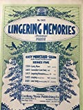 img - for Lingering Memories Romanza (No. 2415 Easy Morceaux de Salon in the Second and Third Grades - Series 5) book / textbook / text book