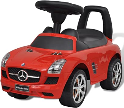 vidaXL Coche Correpasillos de Niños Mercedes Benz Rojo Coche Infantil Juguete: Amazon.es: Juguetes y juegos