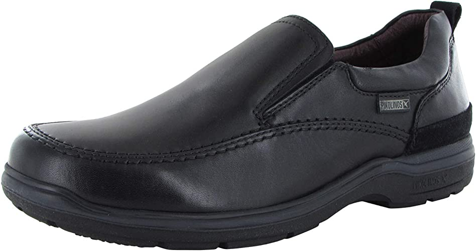 Pikolinos Oviedo Leather Slip On Loafer Shoes