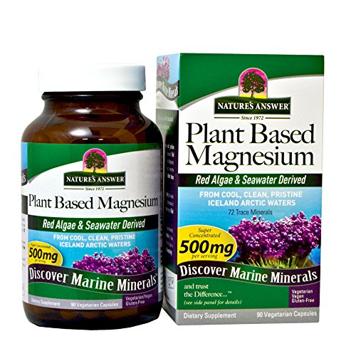 Amazon.com: Natures Answer Plant Based Liquid Magnesium Vanilla Cream 500 mg 16-Ounce Pure Plant Based Vegetarian Vitamins Natural Energy Support Whole ...
